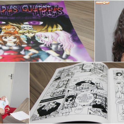 """Aos 21 anos de idade, desenhista jaicoense já tem revista lançada; """"Meu sonho é poder viver desse trabalho"""" diz"""