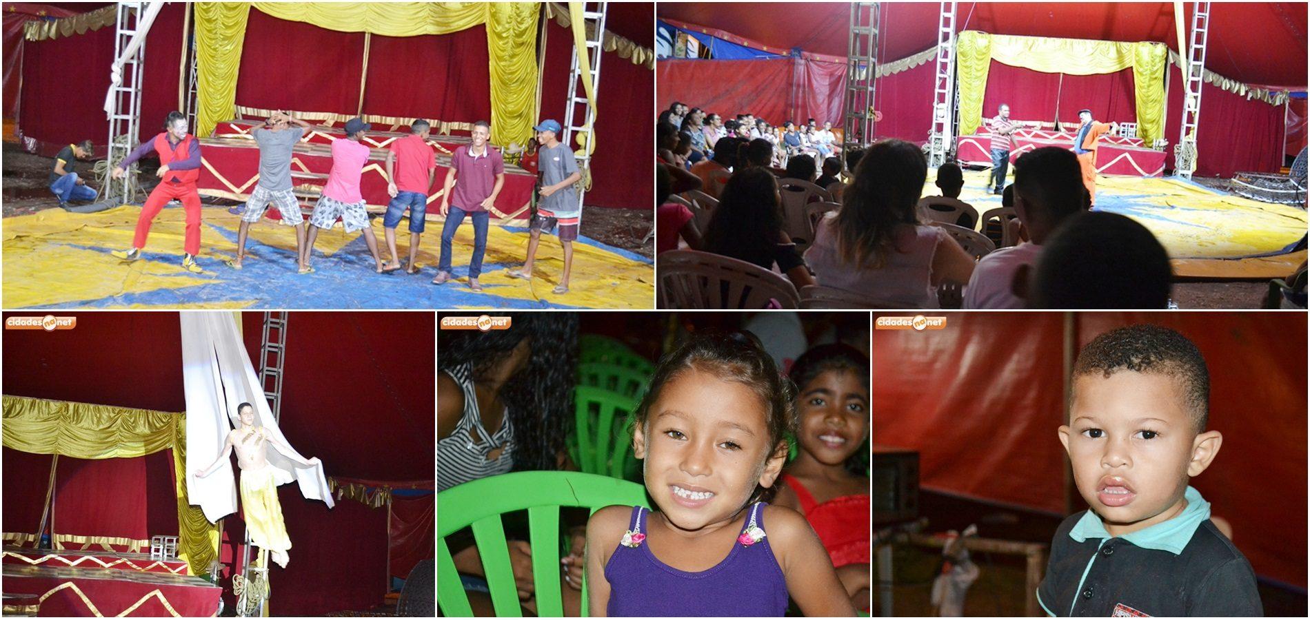 FOTOS   Prefeitura de Jaicós e Circo Amazonas promovem espetáculo gratuito para a população