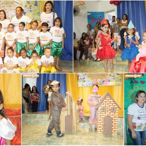 JAICÓS | Apresentações marcam encerramento do ano letivo da Creche e Pré-Escola O Bolinha