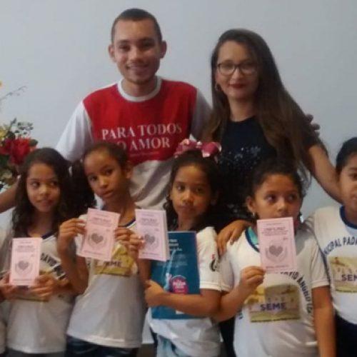 JAICÓS   Professora da Escola Padre David promove aula passeio ao Salão do livro do Vale do Guaribas