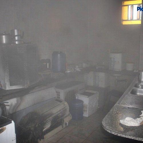 Vazamento de gás provoca incêndio em Fórum de Picos