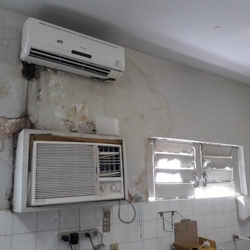 Forro do teto do Hospital Infantil Lucídio Portela corre risco de desabar, diz MP