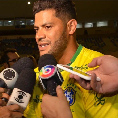 Hulk reafirma desejo de defender o Palmeiras