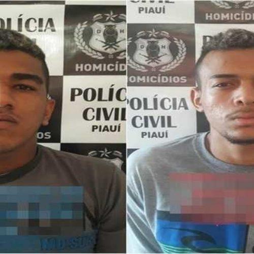 DHPP prende dois acusados de assassinato no Piauí