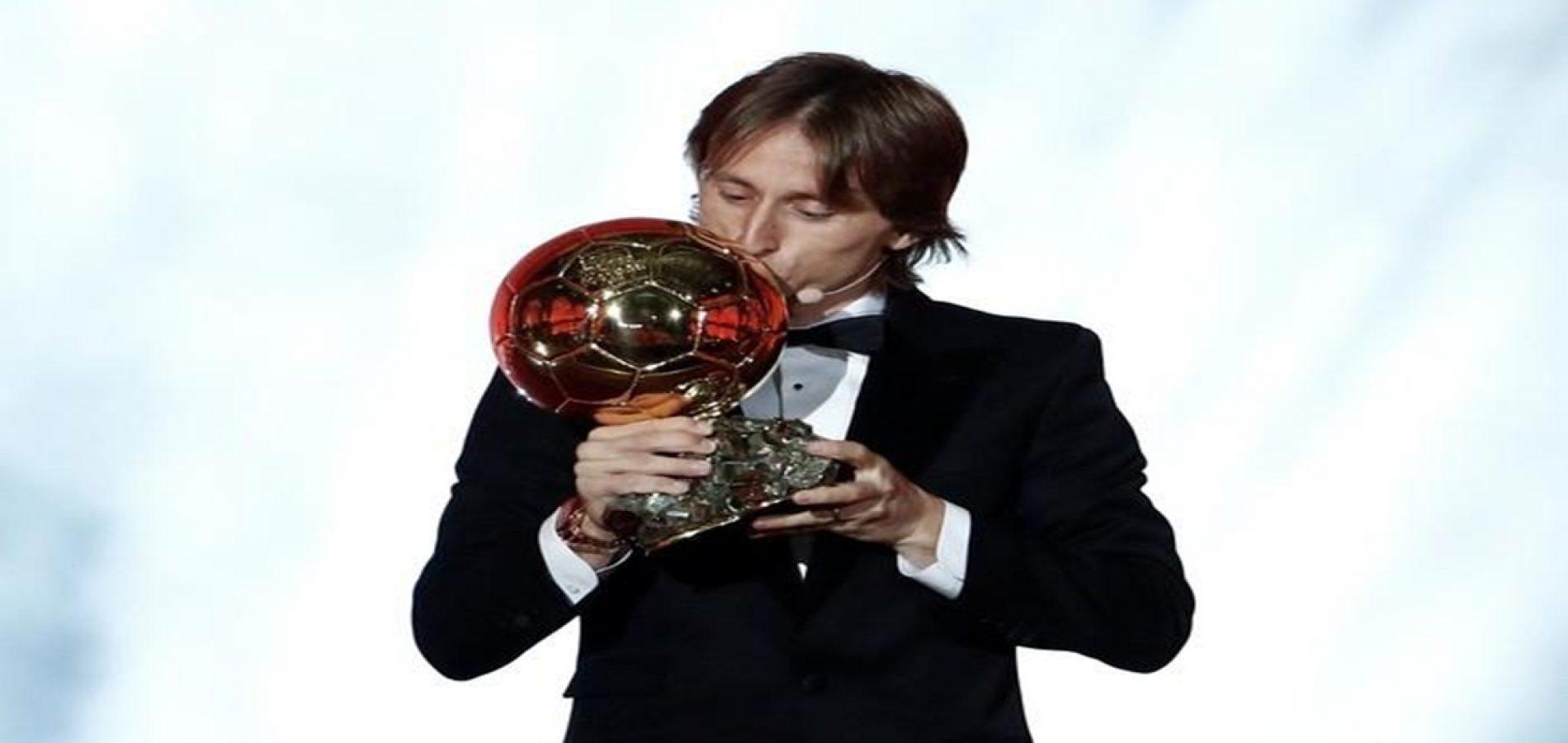 Luka Modric conquista a Bola de Ouro; Neymar fica em 12º lugar
