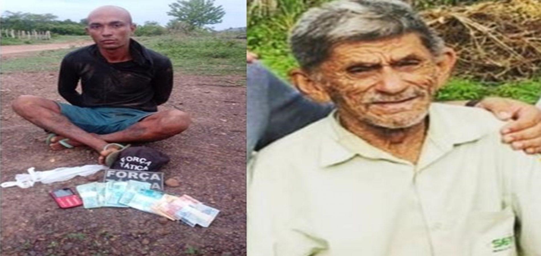 Força Tática de Valença prende acusado de matar idoso em Aroazes