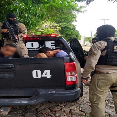 Polícia prende dupla suspeita de arrastão a empresa no Piauí