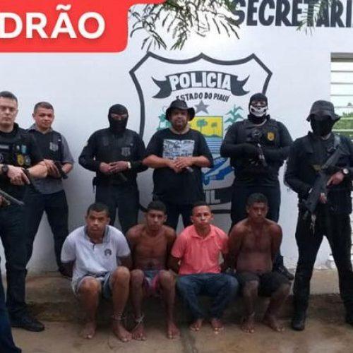 Operação prende acusados de roubo, furto e latrocínio no Piauí