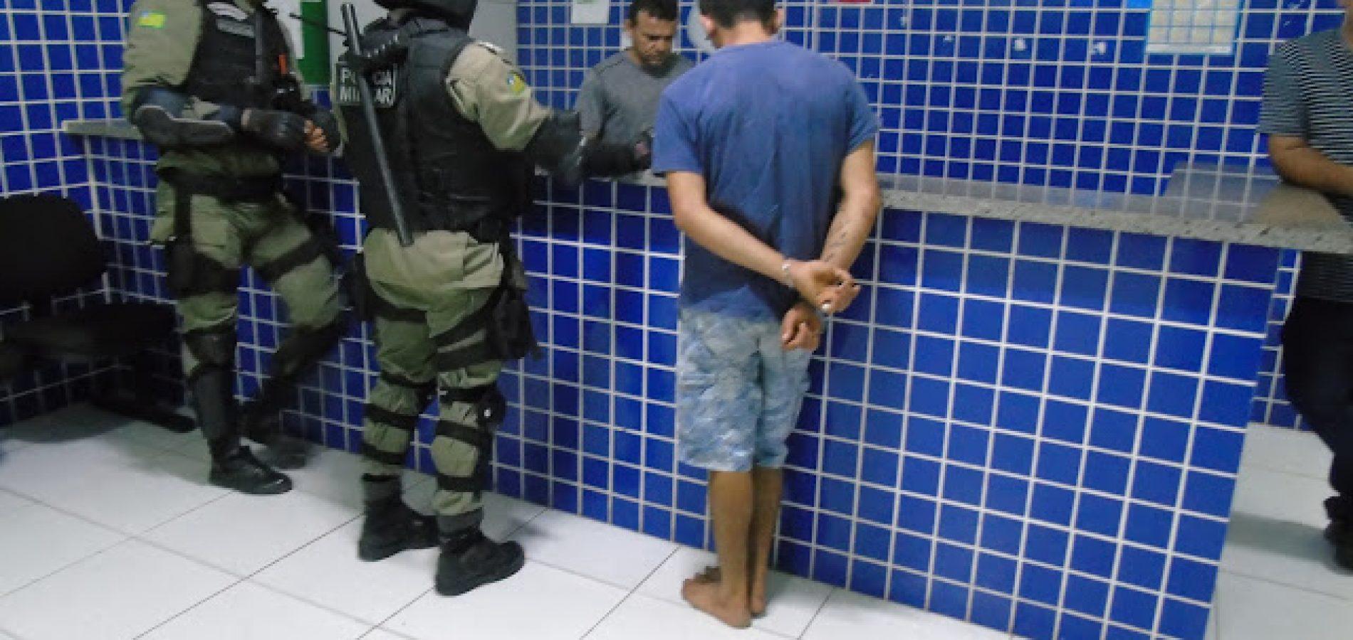 Após abordagem policial, suspeito tenta fugir e acaba preso no Piauí