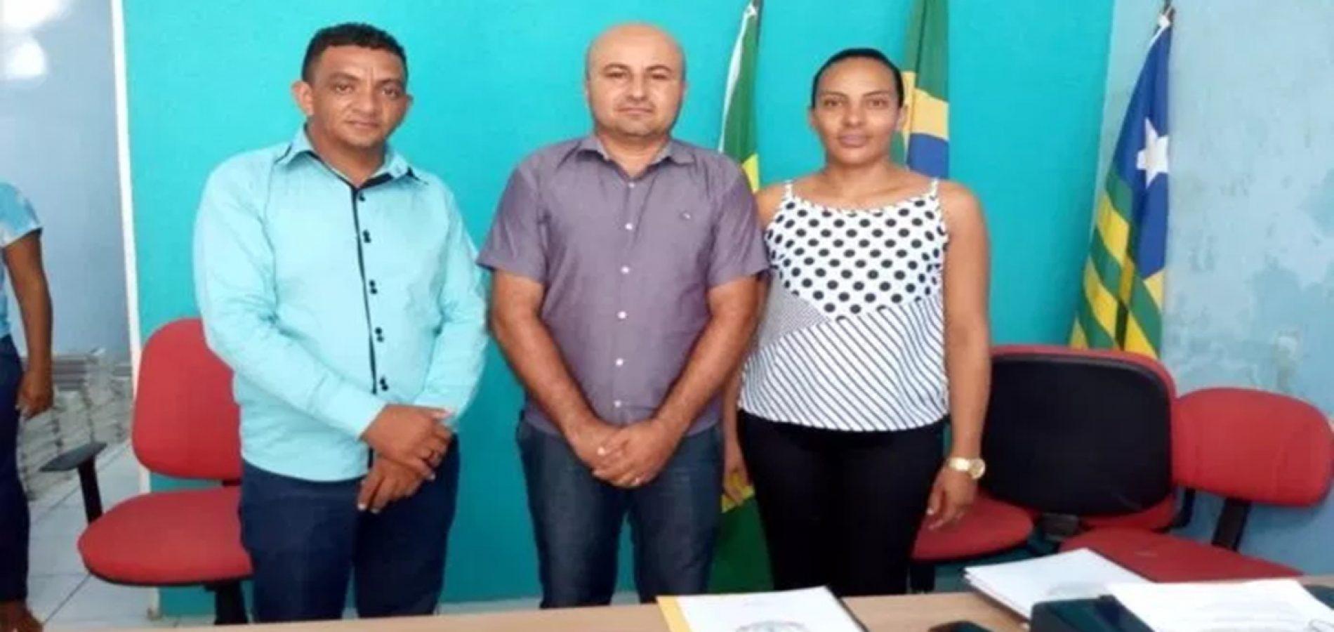 Adenilton de Olavo é eleito presidente da Câmara  de Vera Mendes para o biênio 2019/2020