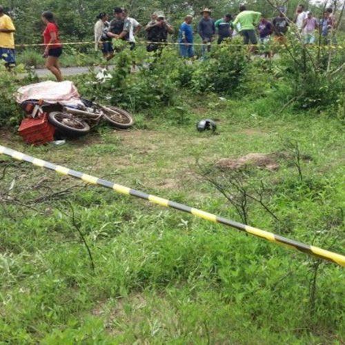 Lavrador morre em acidente ao perder o controle de sua motocicleta na PI-113
