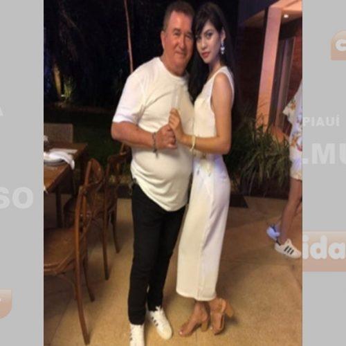 Amado Batista, aos 67 anos assume namoro com uma jovem de 19
