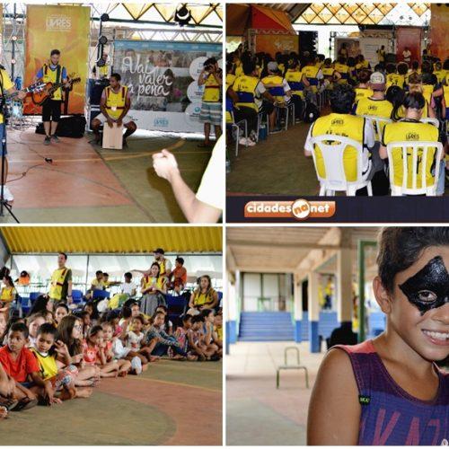 PICOS│Projeto Impacto Sertão Livre reúne voluntários e realiza atividades infantis; veja fotos
