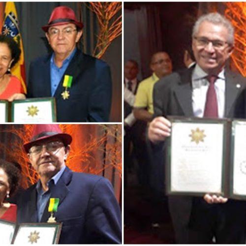 Prefeito de Marcolândia é homenageado e recebe medalha do mérito Renascença do Piauí