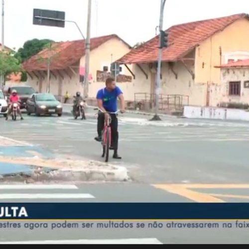 Ciclistas de Teresina deverão colocar placas nas bicicletas após mudança em lei de trânsito