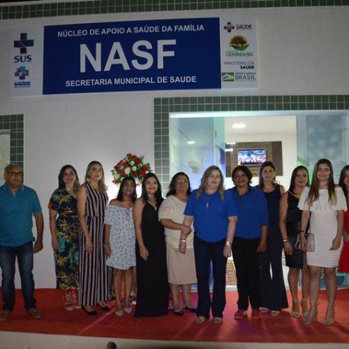 FOTOS | Inauguração do NASF no 25° aniversário de Geminiano