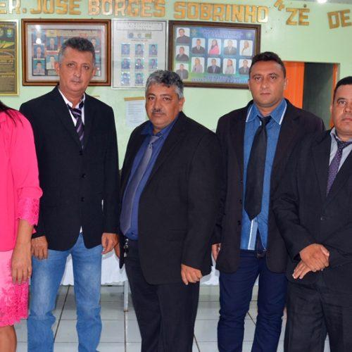 Vereador Chico Antão é reeleito presidente da Câmara de Geminiano
