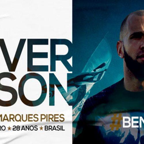A pedido de Jorge Sampaoli, Santos oficializa a contratação do goleiro Éverson, ex-River