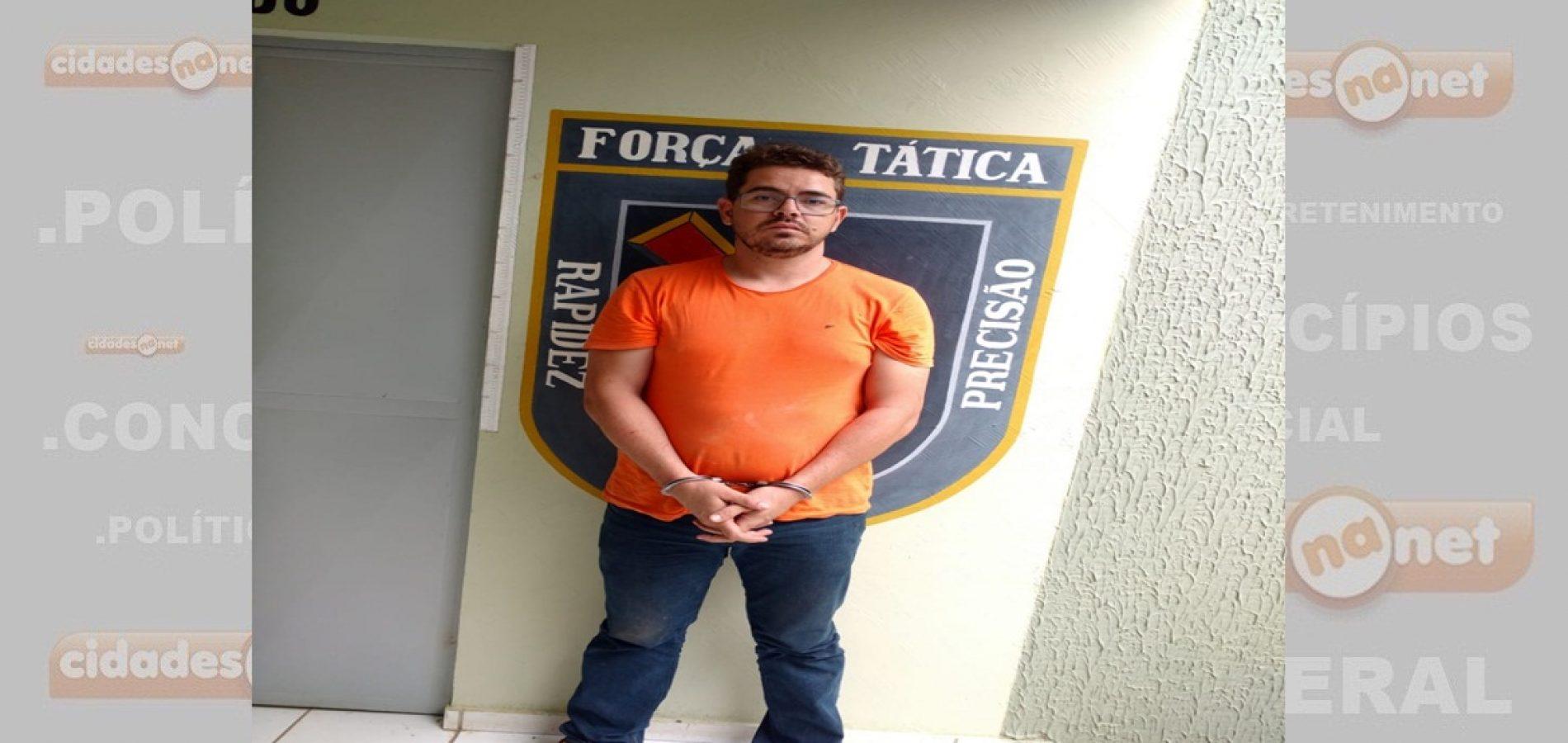 Professor condenado a dez anos por tráfico de drogas é preso pela Força Tática de Paulistana