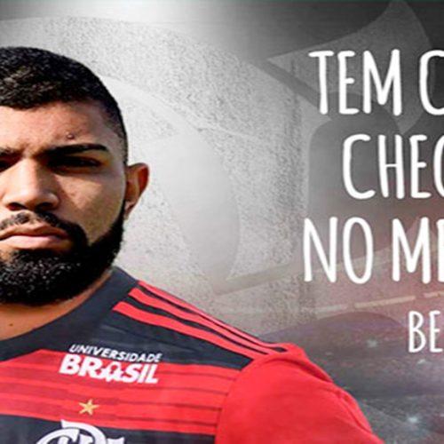 Flamengo anuncia oficialmente o atacante Gabriel como reforço para 2019