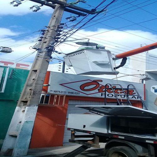 Fumipi aplica recursos em obras de iluminação pública em Picos