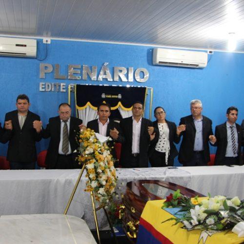 Sessão fúnebre homenageia o ex-prefeito de Padre Marcos Afonso Moura