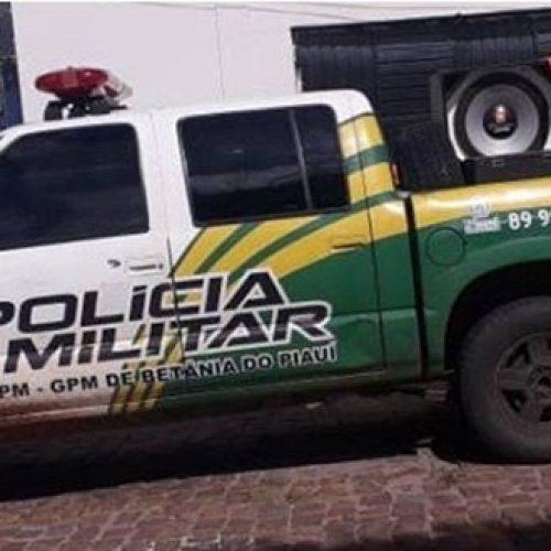 Polícia Militar apreende paredão de som em Betânia do Piauí