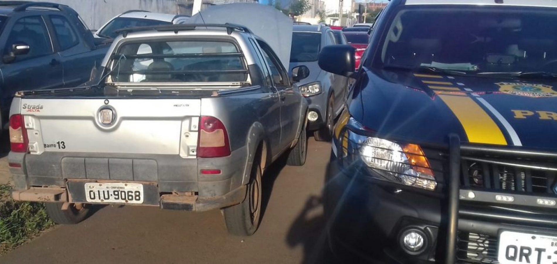 PRF recupera em Picos carro roubado em Teresina
