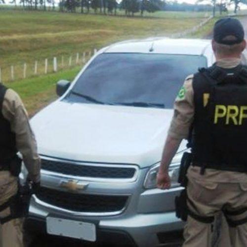 PRF apreende caminhonete de luxo com registro de roubo na região de Picos