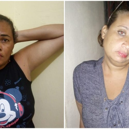 Mulheres são presas envolvidas com o tráfico de drogas no interior do Piauí