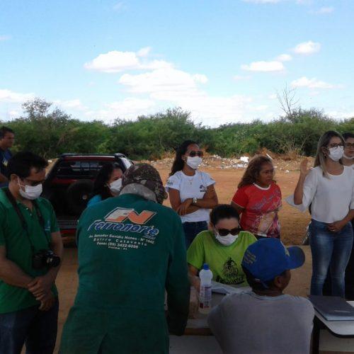 Em Picos, Semam realiza cadastro de catadores