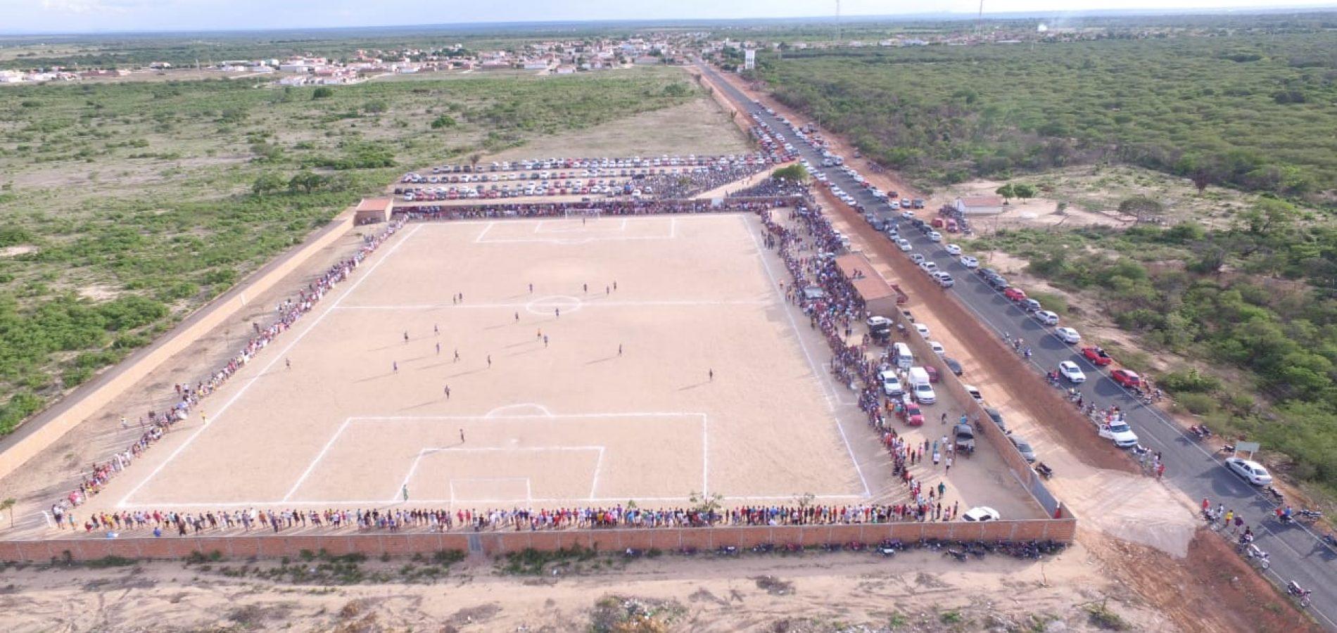 Em Campo Grande do PI, final do Campeonato de Futebol reúne multidão; Juventus conquista título de campeão