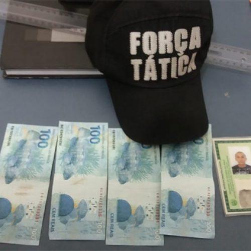 Homem é preso comprando roupas com notas falsas no Piauí