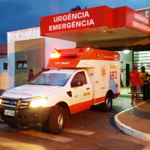 Mulher fica ferida após cair da carroceria de carro em cidade do Piauí