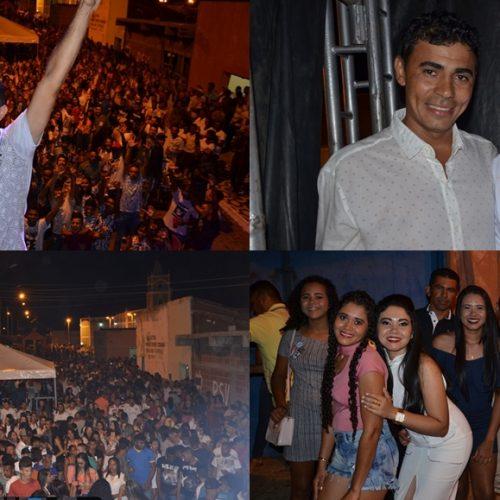 CURRAL NOVO | Prefeito realiza festa de Réveillon com Iranildo Santos, Stanley Farra e Marcelo Batista