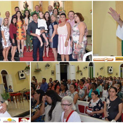PADRE MARCOS 55 ANOS   Missa em Ação de Graças abre a programação comemorativa do aniversário