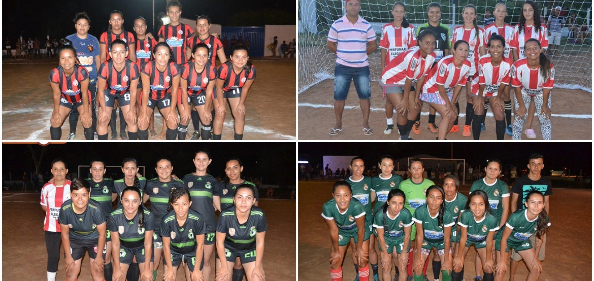 CARIDADE 23 ANOS   Torneio de Futebol Feminino abre programação do aniversário da cidade