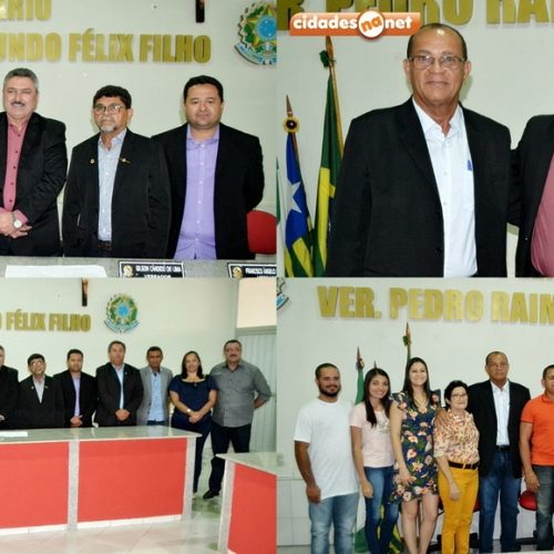 SIMÕES   Joaquim Honório é eleito e empossado para o 4º mandato como presidente da Câmara de Vereadores