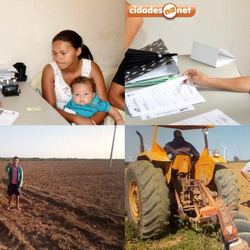 Mais de 1500 famílias são beneficiadas com programa de aração de terra em Simões