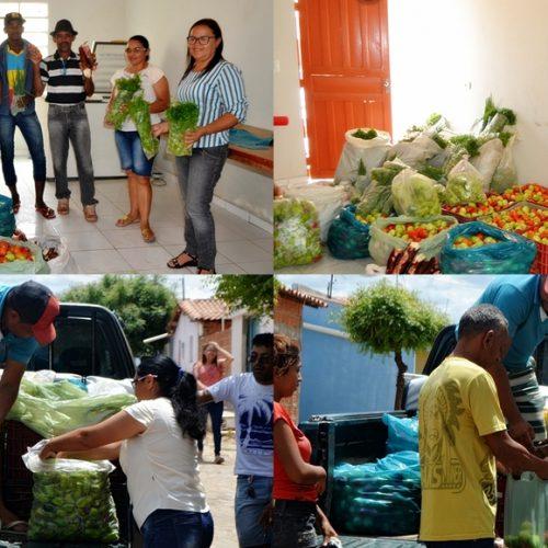 Prefeitura de Simões realiza distribuição de alimentos para população carente