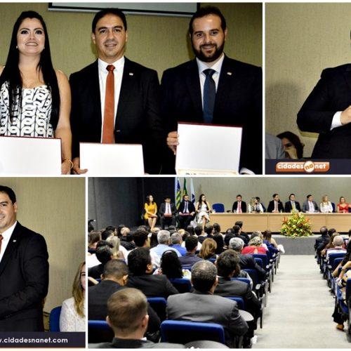 Kléber Alves e David Benevides tomam posse para presidência da OAB-Subsecção de Picos