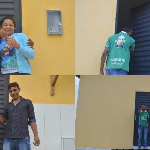Prefeito Junior de Abel entrega casa própria a mais seis famílias de Curral Novo do Piauí