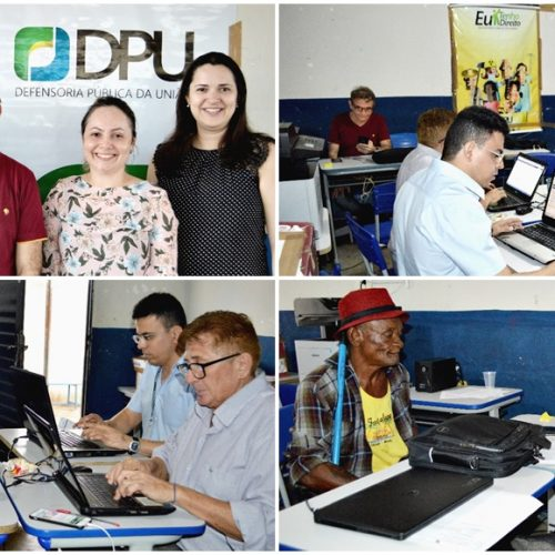 PICOS│Em parceria com a DPU e DPE, Projeto Impacto Sertão Livre realiza atendimentos previdenciários