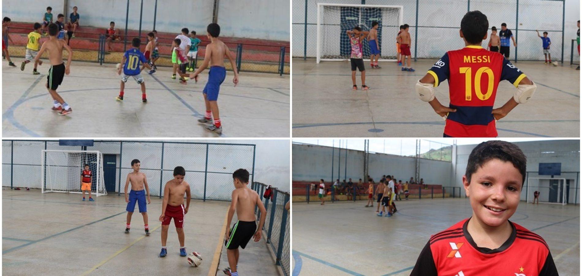 SANTANA│Secretaria de Esporte inicia aulas da Escolinha de Futsal