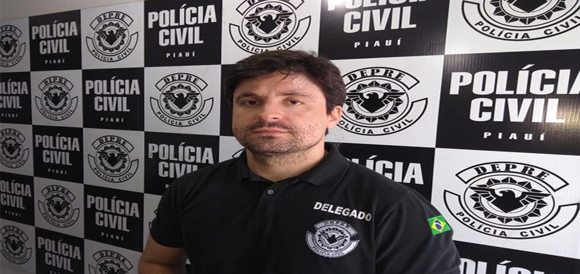 Arrependida, condenada a sete anos por tráfico chora ao ser presa no Piauí