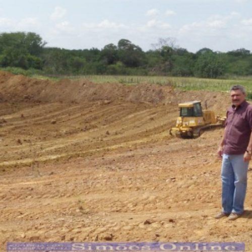 Prefeitura de Simões inicia construção de açude na comunidade Sítio Chupeiro