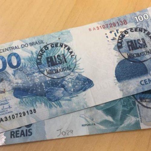 Governo identificou R$ 231 mil em notas falsas no Piauí