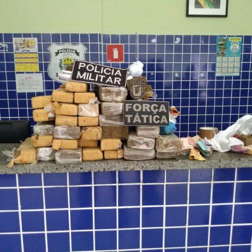 Polícia apreende quase 28 kg de drogas e prende 3 pessoas no Piauí
