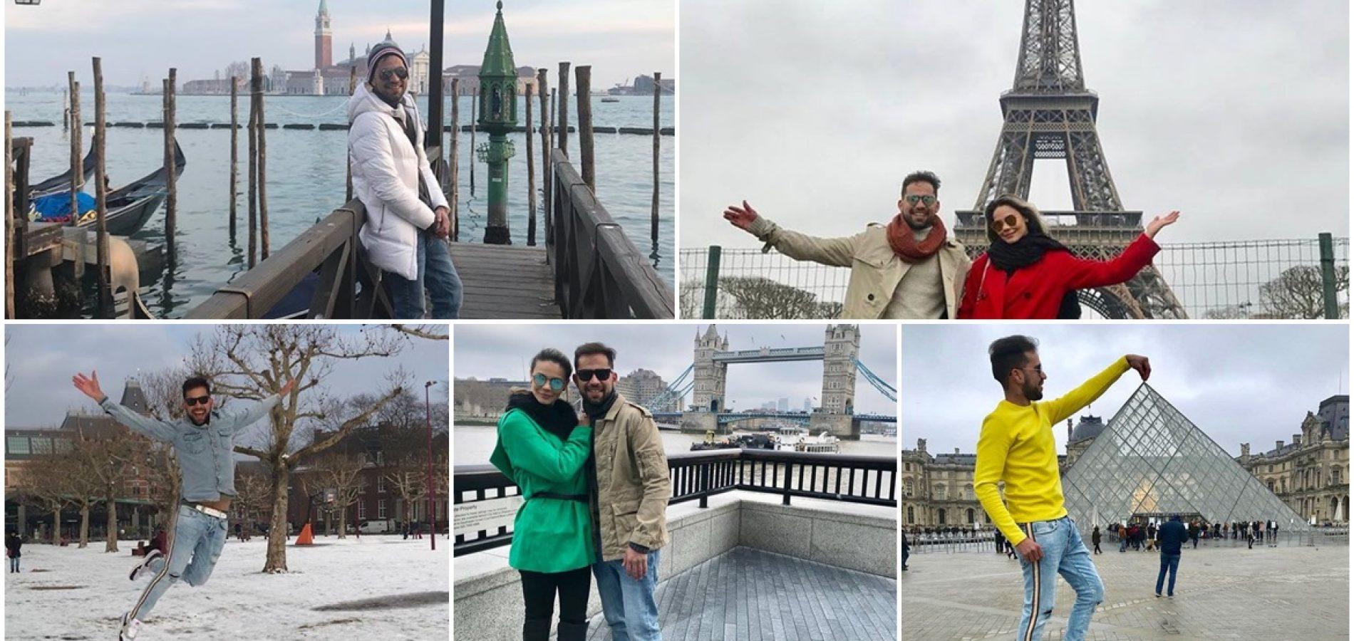 GENTE EM EVIDÊNCIA | Massapeense faz tour emPaíses da Europa