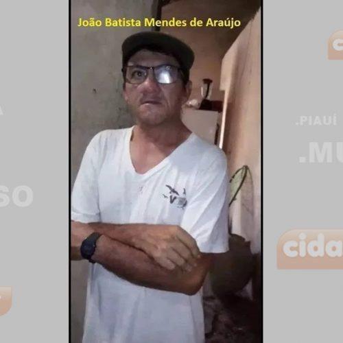 Idoso morre após sofrer maus tratos do próprio filho em cidade do Piauí